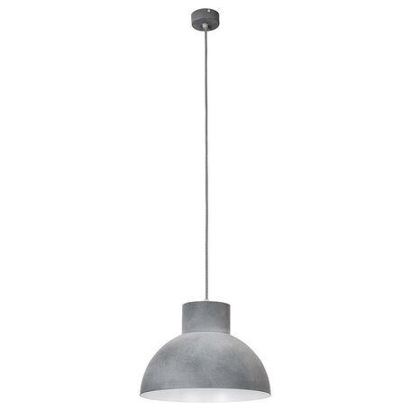 Подвесной светильник Nowodvorski Works 6510, 1xE27x60W, серый, металл
