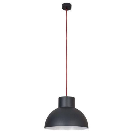 Подвесной светильник Nowodvorski Works 6511, 1xE27x60W, красный, серый, металл
