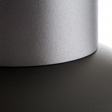 Подвесной светильник Nowodvorski Works 6511, 1xE27x60W, красный, серый, металл - миниатюра 2