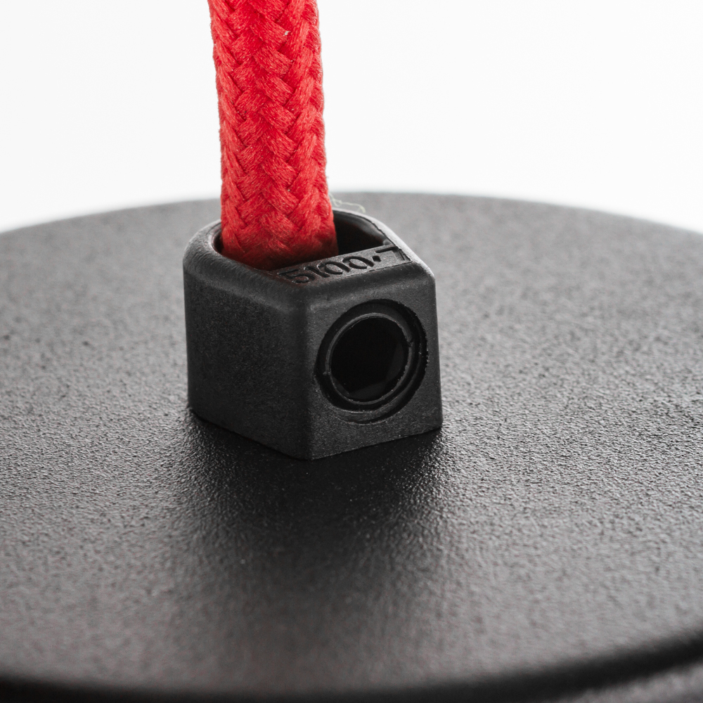 Подвесной светильник Nowodvorski Works 6511, 1xE27x60W, красный, серый, металл - фото 3