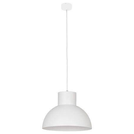 Подвесной светильник Nowodvorski Works 6612, 1xE27x60W, белый, металл