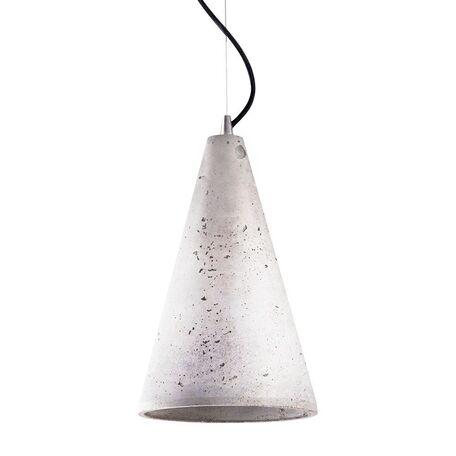 Подвесной светильник Nowodvorski Volcano 6852, 1xE27x60W, сталь, серый, металл, бетон