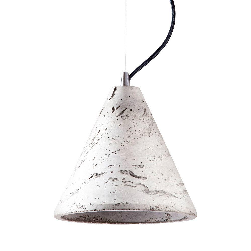 Подвесной светильник Nowodvorski Volcano 6853, 1xGU10x35W, сталь, серый, металл, бетон - фото 1