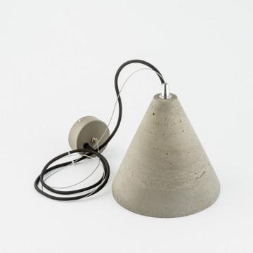 Подвесной светильник Nowodvorski Volcano 6853, 1xGU10x35W, сталь, серый, металл, бетон - миниатюра 2
