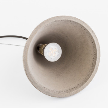 Подвесной светильник Nowodvorski Volcano 6853, 1xGU10x35W, сталь, серый, металл, бетон - миниатюра 5