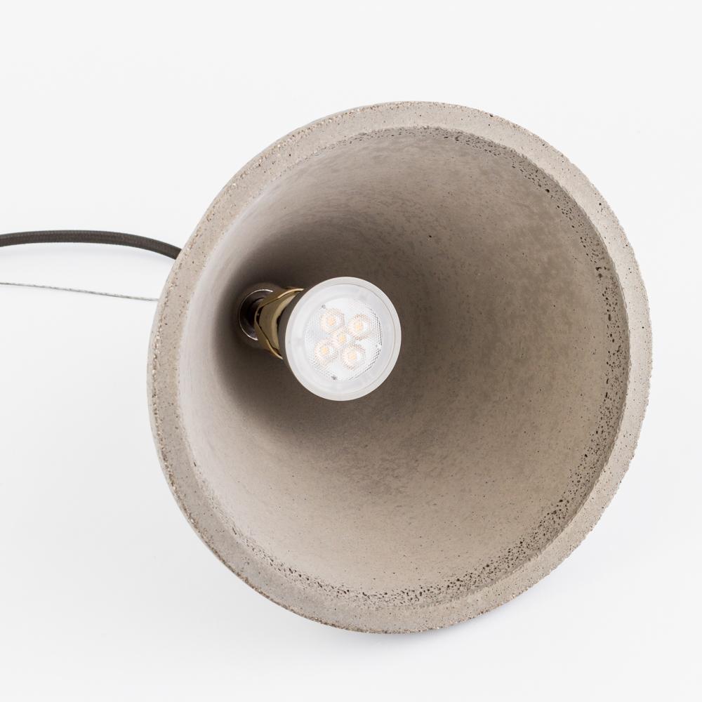 Подвесной светильник Nowodvorski Volcano 6853, 1xGU10x35W, сталь, серый, металл, бетон - фото 5