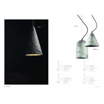 Подвесной светильник Nowodvorski Volcano 6853, 1xGU10x35W, сталь, серый, металл, бетон - миниатюра 6