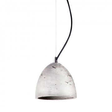 Подвесной светильник Nowodvorski Lava 6854, 1xGU10x35W, сталь, серый, металл, бетон