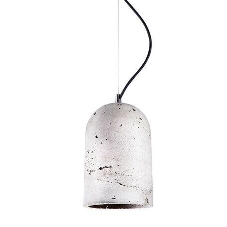 Подвесной светильник Nowodvorski Lava 6855, 1xE27x60W, сталь, серый, металл, бетон