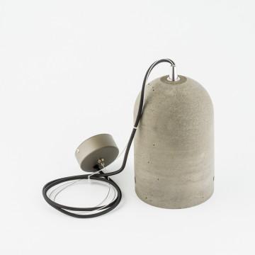 Подвесной светильник Nowodvorski Lava 6855, 1xE27x60W, сталь, серый, металл, бетон - миниатюра 2
