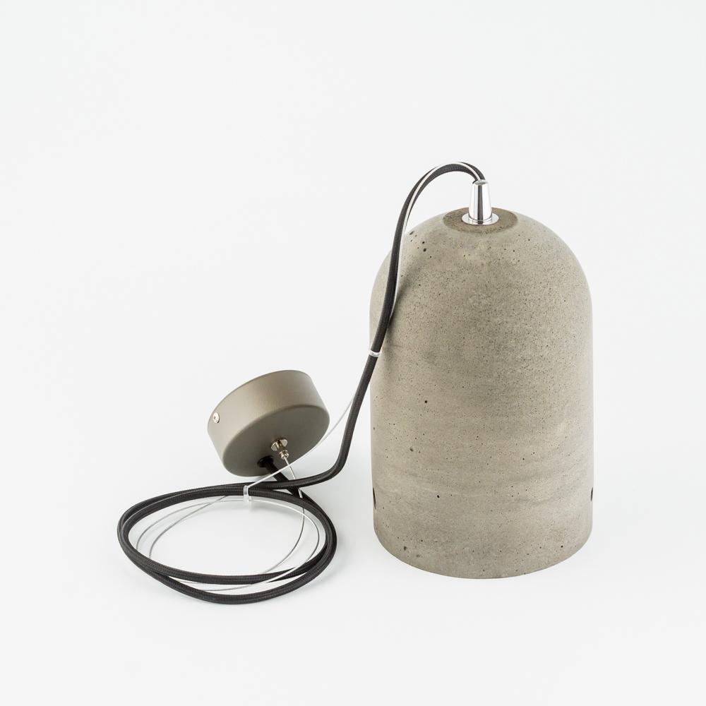 Подвесной светильник Nowodvorski Lava 6855, 1xE27x60W, сталь, серый, металл, бетон - фото 2