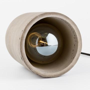 Подвесной светильник Nowodvorski Lava 6855, 1xE27x60W, сталь, серый, металл, бетон - миниатюра 4