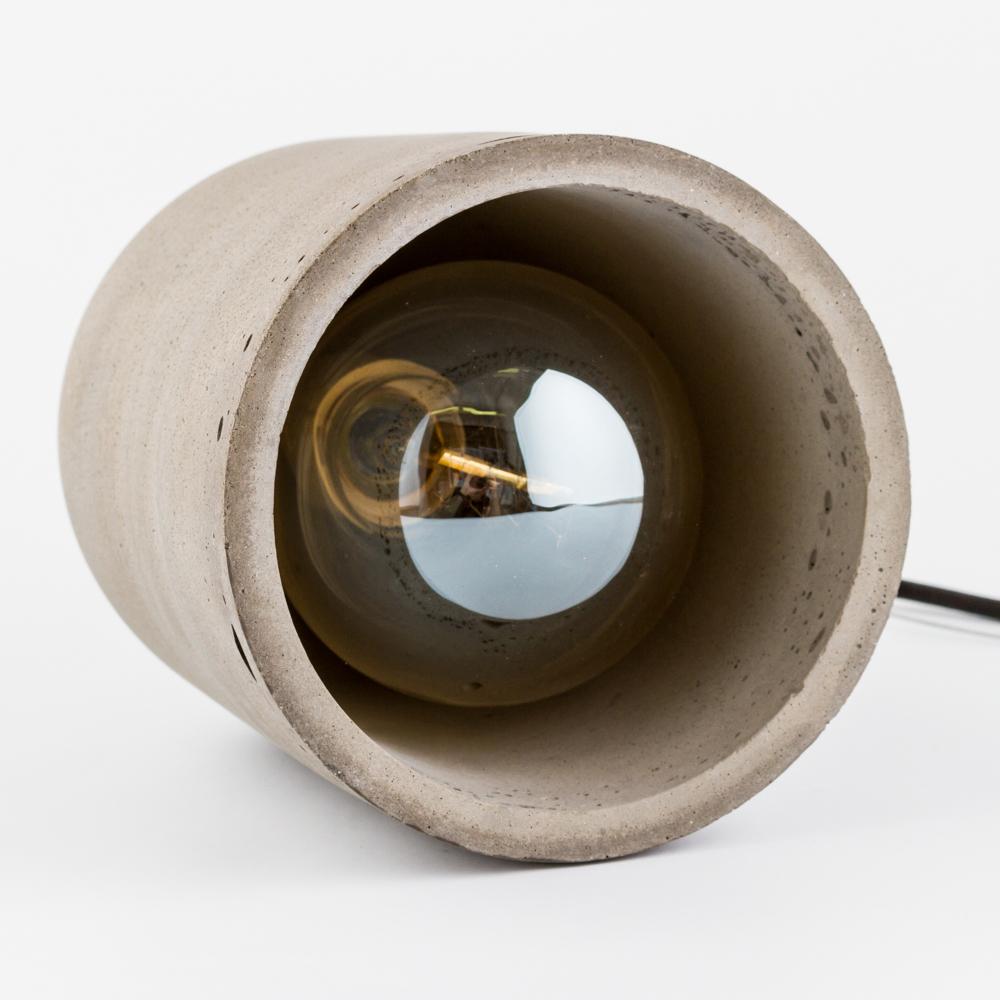 Подвесной светильник Nowodvorski Lava 6855, 1xE27x60W, сталь, серый, металл, бетон - фото 4