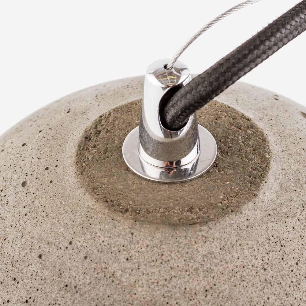 Подвесной светильник Nowodvorski Lava 6855, 1xE27x60W, сталь, серый, металл, бетон - фото 5