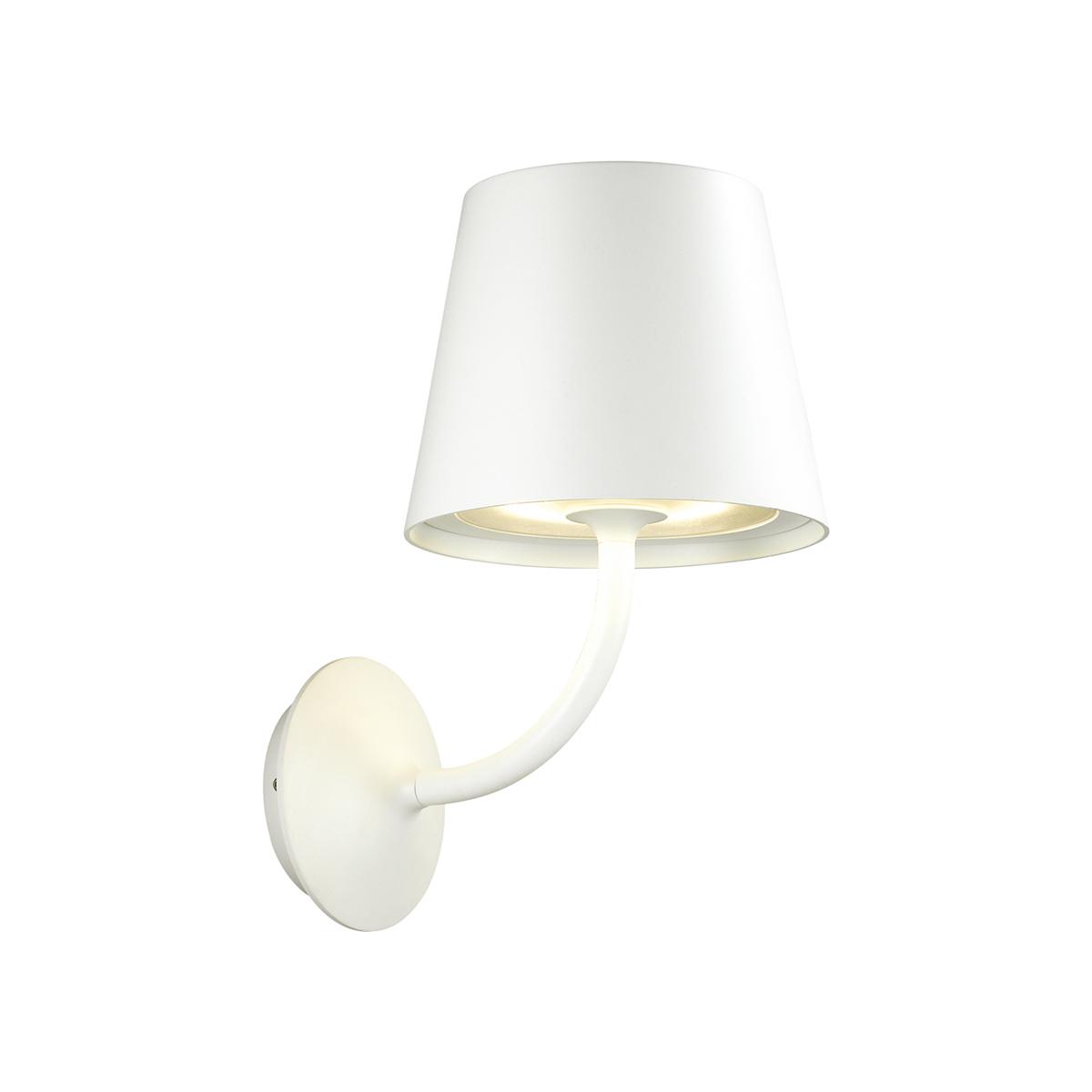 Светодиодное бра Odeon Light Elin 4609/7WL, IP65, LED 7W 3000K 555lm, белый, металл, стекло - фото 1