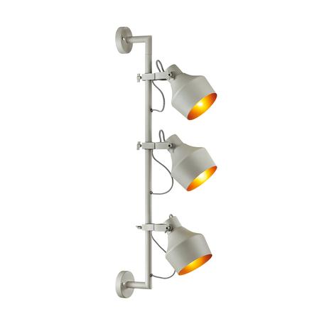 Бра с регулировкой направления света Odeon Light Classic Osta 4083/3WA, 3xE27x40W, серый, металл