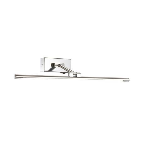 Настенный светодиодный светильник для подсветки картин Odeon Light Kale 4616/8WL, LED 8W, 4000K (дневной), хром, металл, пластик