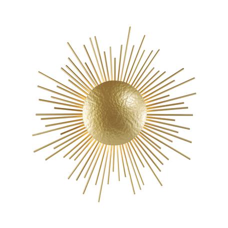 Настенный светильник Odeon Light Sole 4139/3W, 3xG9x40W, матовое золото, металл