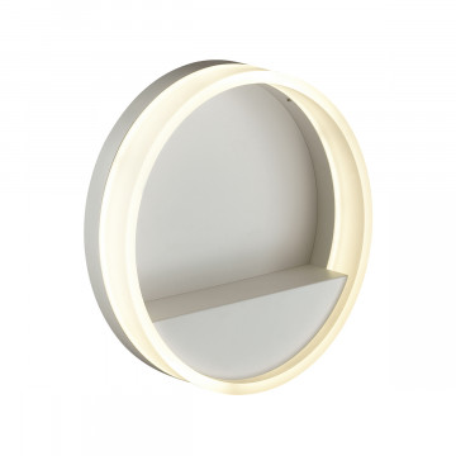 Настенный светодиодный светильник Odeon Light Getti 4145/18L, LED 18W 4000K 1080lm, белый, металл, пластик