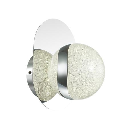 Настенный светодиодный светильник Odeon Light Domus 4193/8WL 4000K (дневной), хром, металл, пластик