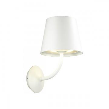 Настенный светодиодный светильник Odeon Light Elin 4609/7WL, IP65 3000K (теплый), белый, металл, стекло - миниатюра 1