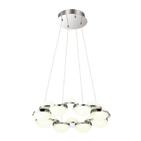 Подвесная люстра Odeon Light 4106/64L, хром, металл, пластик
