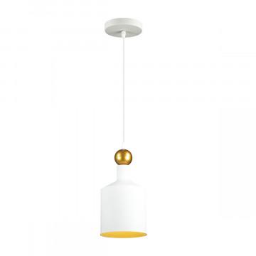 Подвесной светильник Odeon Light Pendant Bolli 4087/1, 1xE27x40W, белый, металл