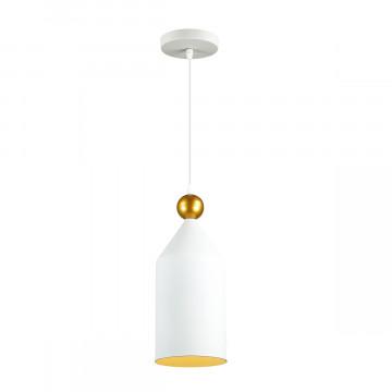 Подвесной светильник Odeon Light Pendant Bolli 4093/1, 1xE27x40W, белый, металл