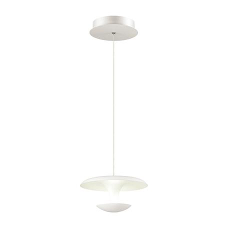 Подвесной светодиодный светильник Odeon Light L-Vision Vaga 4095/9L, LED 9W 4000K 720lm, белый, металл