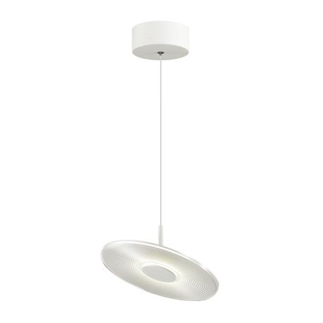 Подвесной светодиодный светильник с регулировкой направления света Odeon Light L-Vision Ellen 4107/12L, LED 12W 4000K 757lm, белый, металл, пластик