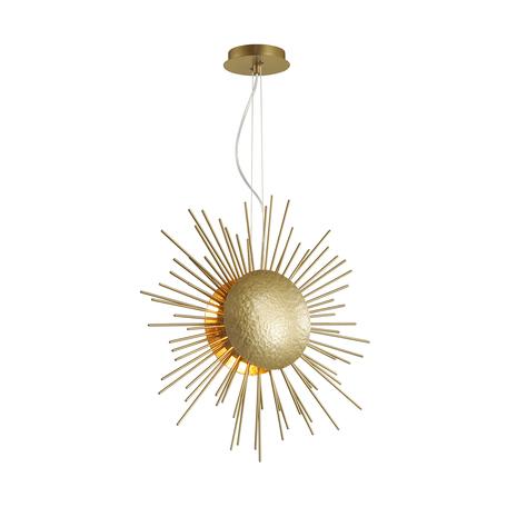 Подвесной светильник Odeon Light Sole 4139/6, 6xG9x40W, матовое золото, металл