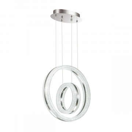 Подвесной светодиодный светильник Odeon Light Constance 4603/54L, хром, металл, пластик