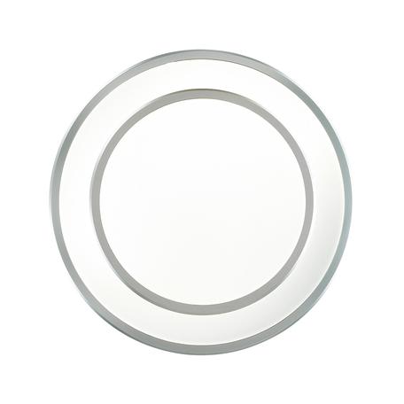 Потолочный светодиодный светильник Odeon Light Selena 4627/48CL, серебро, металл, пластик
