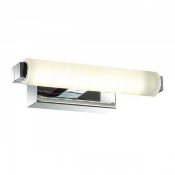 Настенный светильник Odeon Light 4618/4WL, IP44, хром, белый, металл, пластик