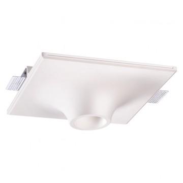 Встраиваемый светильник Novotech Cail 370495, 1xGU10x50W, белый, под покраску, гипс