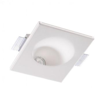 Встраиваемый светильник Novotech Spot Cail 370497, 1xGU10x50W, белый, под покраску, гипс