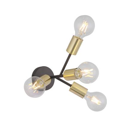 Бра ST Luce Foglione SL437.401.04, 4xE27x4W, золото, металл