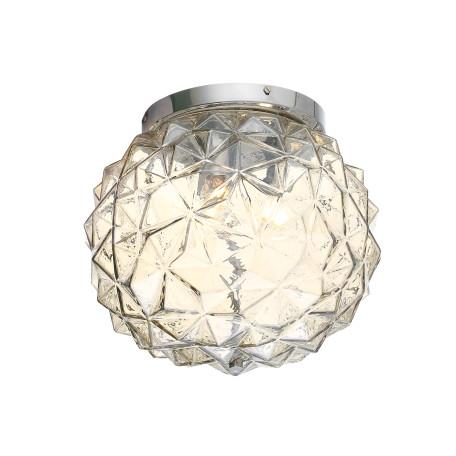 Потолочный светильник ST Luce Brill SL326.302.03, 3xE14x40W, хром, коньячный, металл, стекло