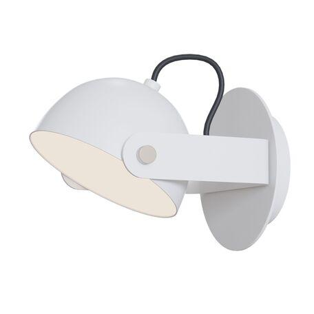 Настенный светодиодный светильник с регулировкой направления света Maytoni Hygge MOD047WL-L5W3K, LED 6W, 3000K (теплый), белый, металл