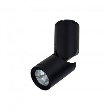 Потолочный светодиодный светильник с регулировкой направления света Maytoni Tube C019CW-01B4K, LED 10W 4000K 1000lm CRI80, черный, металл