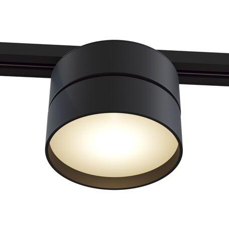 Светодиодный светильник Maytoni Onda TR007-1-18W3K-B4K, LED 18W 4000K 1100lm CRI84, черный, металл, металл с пластиком