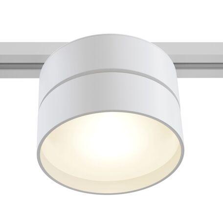 Светодиодный светильник Maytoni Onda TR007-1-18W3K-W4K, LED 18W 4000K 1500lm CRI84, белый, металл, металл с пластиком