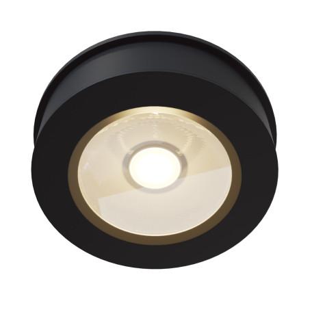 Встраиваемый светодиодный светильник с регулировкой направления света Maytoni Magic DL2003-L12B4K, LED 12W 4000K 1100lm CRI84, черный, металл
