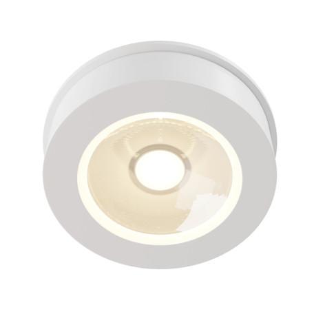 Встраиваемый светодиодный светильник с регулировкой направления света Maytoni Magic DL2003-L12W4K, LED 12W 4000K 1100lm CRI91, белый, металл