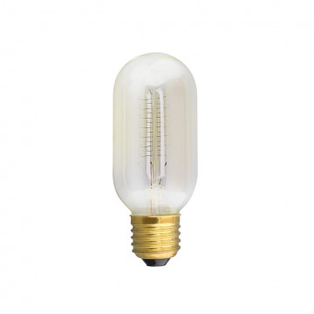 Лампа накаливания Citilux Bulb Loft T4524C60 цилиндр E27 60W, 2600K (теплый), диммируемая
