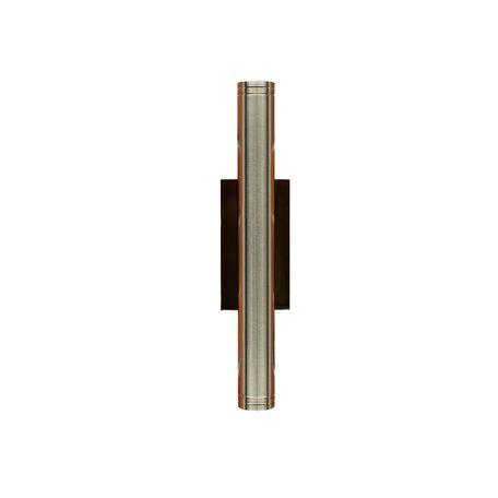 Настенный светодиодный светильник Citilux CLU0001.S, IP54, LED 6W 4000K 450lm, черный, хром, металл