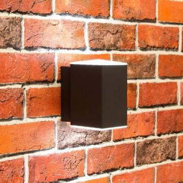 Настенный светодиодный светильник Citilux CLU0002, IP54, LED 6W 4000K 450lm, черный, металл - миниатюра 2