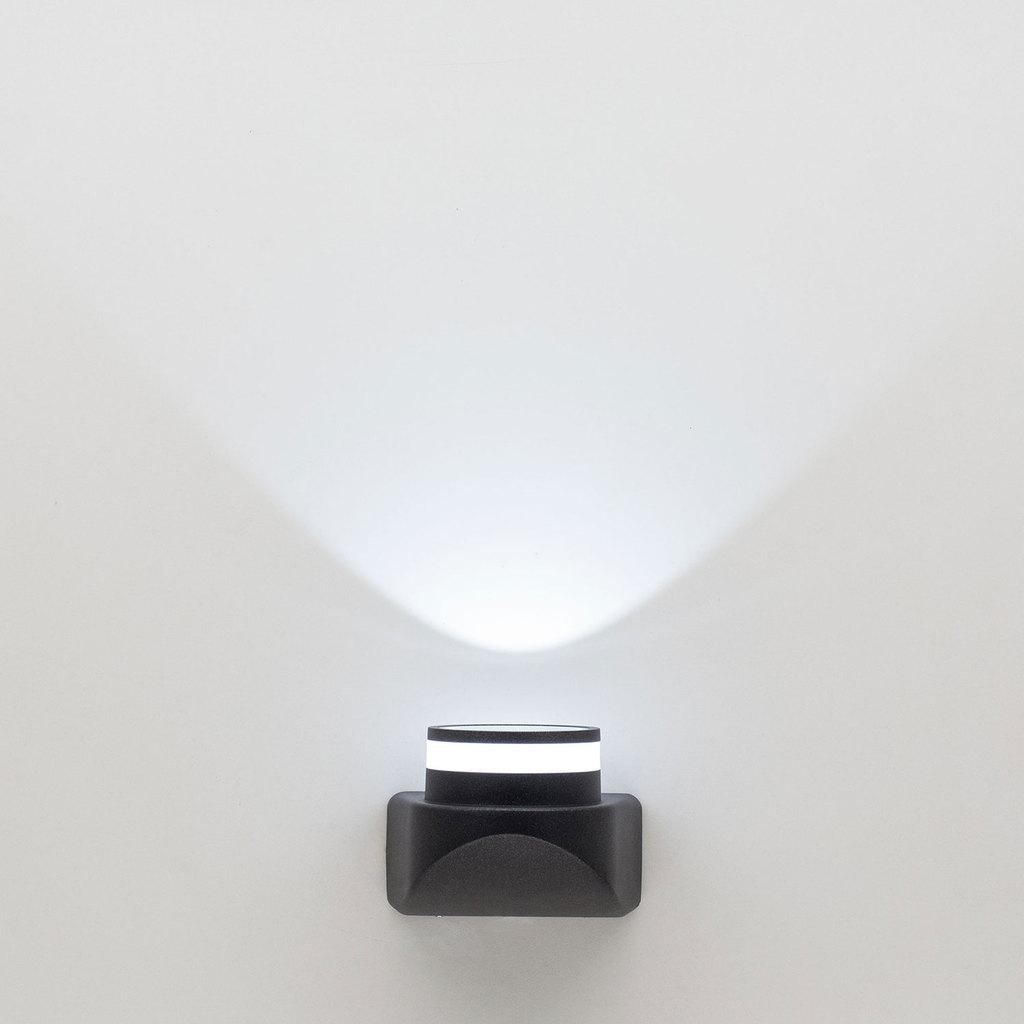 Настенный светодиодный светильник Citilux CLU0004, CLU0005 CLU0004, IP54, LED 8W 4000K 530lm, черный, металл - фото 1