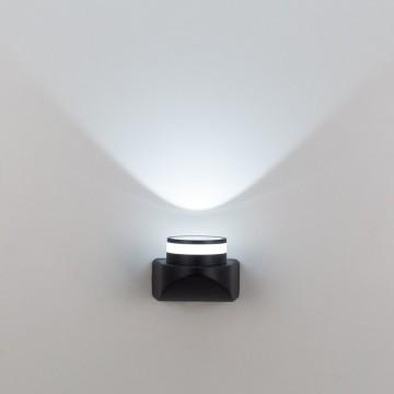 Настенный светодиодный светильник Citilux CLU0004, CLU0005 CLU0004, IP54, LED 8W 4000K 530lm, черный, металл - миниатюра 3