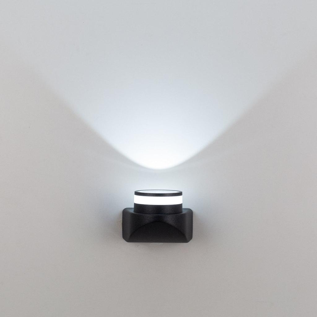 Настенный светодиодный светильник Citilux CLU0004, CLU0005 CLU0004, IP54, LED 8W 4000K 530lm, черный, металл - фото 3